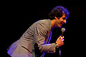 "Edinburgh, UK. 19/08/2011. Patrick Monahan in his show ""Hug Me, I feel Good"" at Edinburgh Festival Fringe 2011. Patrick is a finalist in ITV's ""Show Me the Funny"". Photo credit: Jane Hobson"