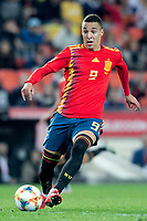 Spain's Rodrigo Moreno  during the qualifying match for Euro 2020 on 23th March, 2019 in Valencia, Spain. (ALTERPHOTOS/Alconada)<br /> Valencia 23-03-2019 <br /> Football Qualifying match Euro2020<br /> Spain Vs Norway <br /> foto Alterphotos/Insidefoto <br /> ITALY ONLY