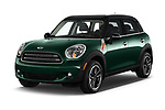 2016 MINI Countryman Countryman 5 Door Hatchback Angular Front stock photos of front three quarter view