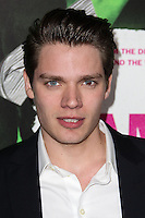 """LOS ANGELES, CA - FEBRUARY 04: Dominic Sherwood at the Los Angeles Premiere Of The Weinstein Company's """"Vampire Academy"""" held at Regal Cinemas L.A. Live on February 4, 2014 in Los Angeles, California. (Photo by Xavier Collin/Celebrity Monitor)"""