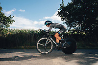 6th October 2021 Womens Cycling Tour, Stage 3. Individual Time Trial; Atherstone to Atherstone. Liane Lippert.