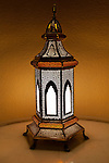 United Arab Emirates, Dubai: Traditional lamp