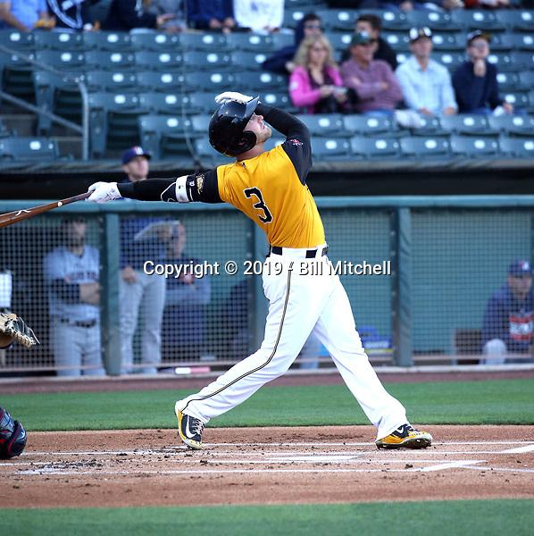 Taylor Ward -2019 Salt Lake Bees (Bill Mitchell)
