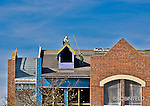 Construction site photo, roofing,