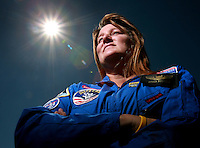 V.Astronaut.1.0623.jl.jpg/photo Jamie Scott Lytle/Teacher  Jessica McCreary of Ramona  was selected to go to a space camp for a week.