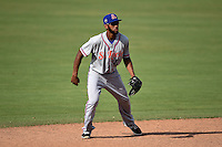 St. Lucie Mets shortstop Amed Rosario (11) during a game against the Fort Myers Miracle on April 19, 2015 at Hammond Stadium in Fort Myers, Florida.  Fort Myers defeated St. Lucie 3-2 in eleven innings.  (Mike Janes/Four Seam Images)