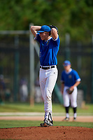 Ryan Sleeper during the WWBA World Championship at the Roger Dean Complex on October 20, 2018 in Jupiter, Florida.  Ryan Sleeper is a left handed pitcher from Lakeville, Minnesota who attends Lakeville North High School and is committed to North Carolina.  (Mike Janes/Four Seam Images)