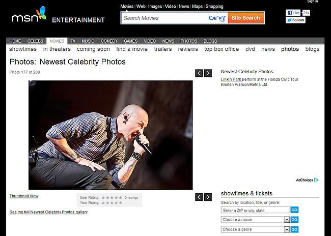 msn.com - Linkin Park 2012