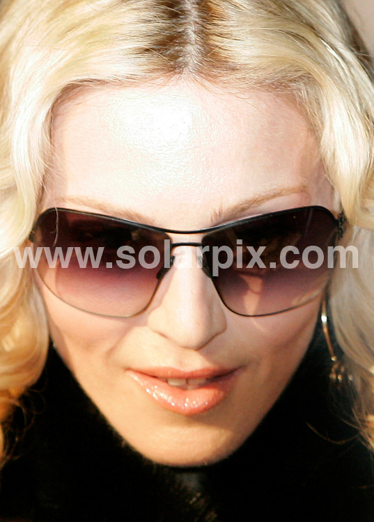 **ALL ROUND PICTURES FROM SOLARPIX.COM**.**SYNDICATION RIGHTS FOR UK AND SPAIN ONLY**.Madonna arriving at the Grand Hyatt Hotel for the photocall for the movie 'Filth And Wisdom' during the 58th International Filmfestival 'Berlinale' in Berlin, Germany. 13th February 2008..JOB REF: 5781  CPR        DATE: 13_02_2008.**MUST CREDIT SOLARPIX.COM OR DOUBLE FEE WILL BE CHARGED* *UNDER NO CIRCUMSTANCES IS THIS IMAGE TO BE REPRODUCED FOR ANY ONLINE EDITION WITHOUT PRIOR PERMISSION*