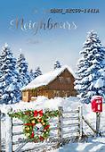 John, CHRISTMAS LANDSCAPES, WEIHNACHTEN WINTERLANDSCHAFTEN, NAVIDAD PAISAJES DE INVIERNO, paintings+++++,GBHSSXC50-1441A,#xl#