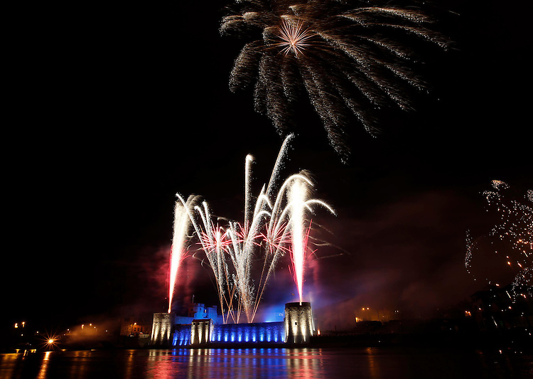 .National Lottery Skyfest fireworks as part of the St. Patrick's Festival. Pic. Robbie Reynolds/CPR