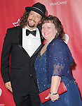 Jason Mraz and mom at The MusiCares® 2013 Person Of The Year Tribute held at The Los Angeles Convention Center, West Hall in Los Angeles, California on February 08,2013                                                                   Copyright 2013 Hollywood Press Agency