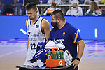 League ACB-ENDESA 2020/2021 - Game: 1.<br /> Barça vs Hereda San Pablo Burgos: 89-86.<br /> Xavi Rabaseda.