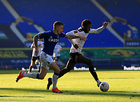 9th January 2021; Goodison Park, Liverpool, Merseyside, England; English FA Cup Football, Everton versus Rotherham United; Matthew Olosunde of Rotherham United takes on Lucas Digne of Everton
