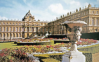 Palace of Versailles, North Flower Bed.