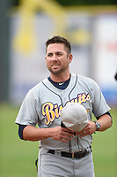 ***Temporary Unedited Reference File***Montgomery Biscuits Dan DeMent (7) during a game against the Chattanooga Lookouts on May 2, 2016 at AT&T Field in Chattanooga, Tennessee.  Chattanooga defeated Montgomery 9-6.  (Mike Janes/Four Seam Images)