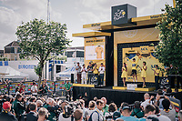 yellow Geraint Thomas (GBR/SKY)<br /> <br /> 104th Tour de France 2017<br /> Stage 3 - Verviers › Longwy (202km)
