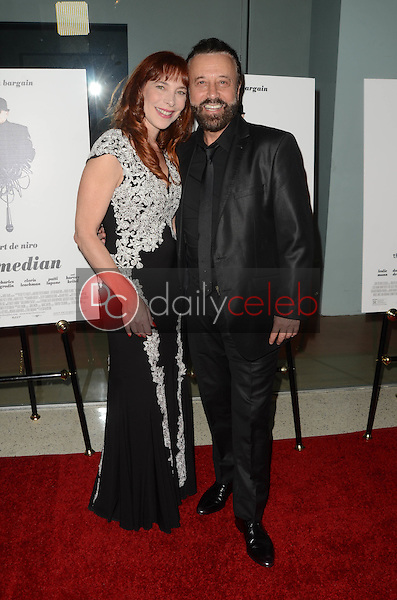 "Dame Nicole Brandon, Yakov Smirnoff<br /> at ""The Comedian"" Los Angeles Premiere, Pacific Design Center, West Hollywood, CA 01-27-17<br /> David Edwards/DailyCeleb.com 818-249-4998"