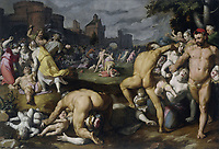 The Massacre of the Innocents, Cornelis Cornelisz. van Haarlem, 1590