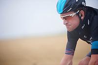 Bradley Wiggins (GBR) biting through the rain<br /> <br /> Eneco Tour 2013<br /> stage 7: Tienen - Geraardsbergen<br /> 208km