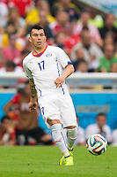 Gary Medel of Chile