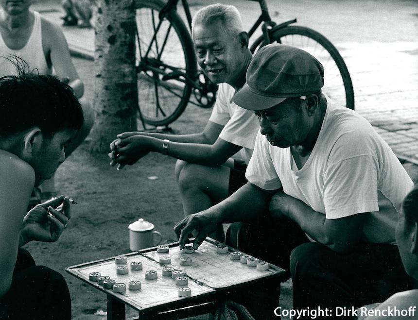 Schachspiel in China 1980