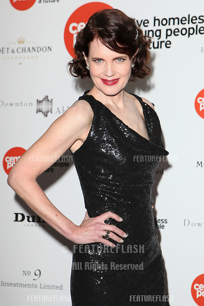 Elizabeth McGovern arriving for the Downton Abbey Ball, The Savoy, London.  30/04/2015 Picture by: Alexandra Glen / Featureflash