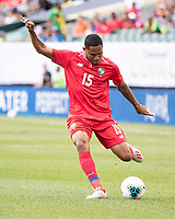 PHILADELPHIA, PA - JUNE 30: Eric Davis #15 during a game between Panama and Jamaica at Lincoln Financial Field on June 30, 2019 in Philadelphia, Pennsylvania.