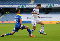 Oliver Norburn of Shrewsbury Town beats Luke O'Neill of AFC Wimbledon during AFC Wimbledon vs Shrewsbury Town, Sky Bet EFL League 1 Football at The Kiyan Prince Foundation Stadium on 17th October 2020