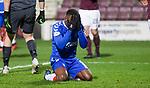 29.02.2020 Hearts v Rangers: Jermain Defoe fails to find the net