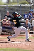 Juan Nunez - Oakland Athletics - 2009 spring training.Photo by:  Bill Mitchell/Four Seam Images