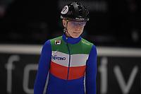 SPEEDSKATING: DORDRECHT: 06-03-2021, ISU World Short Track Speedskating Championships, SF 500m Ladies, Arianna Fontana (ITA), ©photo Martin de Jong