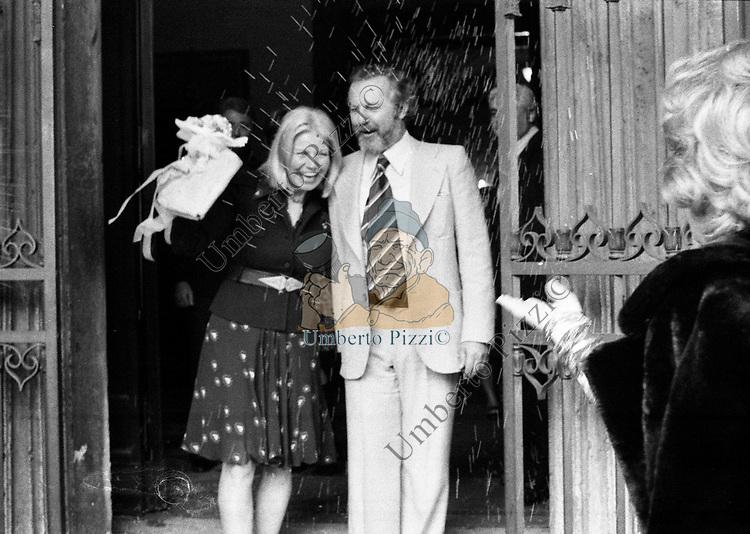 MATRIMONIO DI LUCIO ARDENZI IN CAMPIDOGLIO ROMA 1973