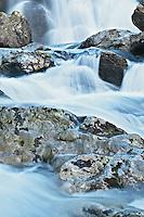 Spring flow over Upper Spivey Falls