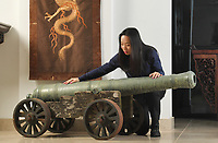 18th century Chinese cannon has emerged for sale for an explosive £100,000.