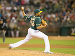 Fernando Abad<br /> Boston Red Sox at Oakland A's at O.Co coliseum in Oakland, June 20, 2014