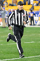 ACC Line Judge Jim Slayton. The Pitt Panthers defeated the North Carolina Tarheels 34-27 in overtime in the football game on November 14, 2019 at Heinz Field, Pittsburgh, Pennsylvania.