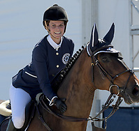 MIAMI BEACH, FL - APRIL 20: Athina Onassis at the Longines Global Champions Tour finals in Miami Beach. Singer Bruce Springsteen's daughter Jessica Rae Springsteen and fellow riders Former Mayor of New York Michael Bloomberg's daughter Georgina Bloomberg as well as Bill Gates daughter Jennifer Gates were all in attendance on April 20, 2019 in Miami Beach, Florida<br /> <br /> <br /> People:  Athina Onassis