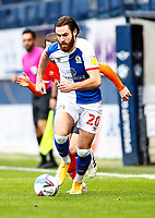 21st November 2020; Kenilworth Road, Luton, Bedfordshire, England; English Football League Championship Football, Luton Town versus Blackburn Rovers; Ben Brereton of Blackburn Rovers
