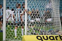 6th October 2021; Arena do Gremio, Porto Alegre, Brazil; Brazilian Serie A, Gremio versus Cuiaba;  Players of Gremio laments scored goal by Marllon Borges of Cuiaba in the 79th minute 1-2