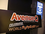 """Avenue Q"" Celebrates World Puppetry Day at The New World Stages on 3/21/2019 in New York City."