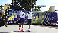 Orlando, Florida - Monday July 29, 2019: MLS All-Stars Training was held at ESPN Wide World of Sports Complex Field 8 as preparations for the MLS All-Star Game.