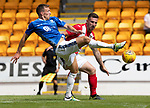St Johnstone v East Fife…14.07.18…  McDiarmid Park    League Cup<br />David McMillan and Daryl Meggat<br />Picture by Graeme Hart. <br />Copyright Perthshire Picture Agency<br />Tel: 01738 623350  Mobile: 07990 594431