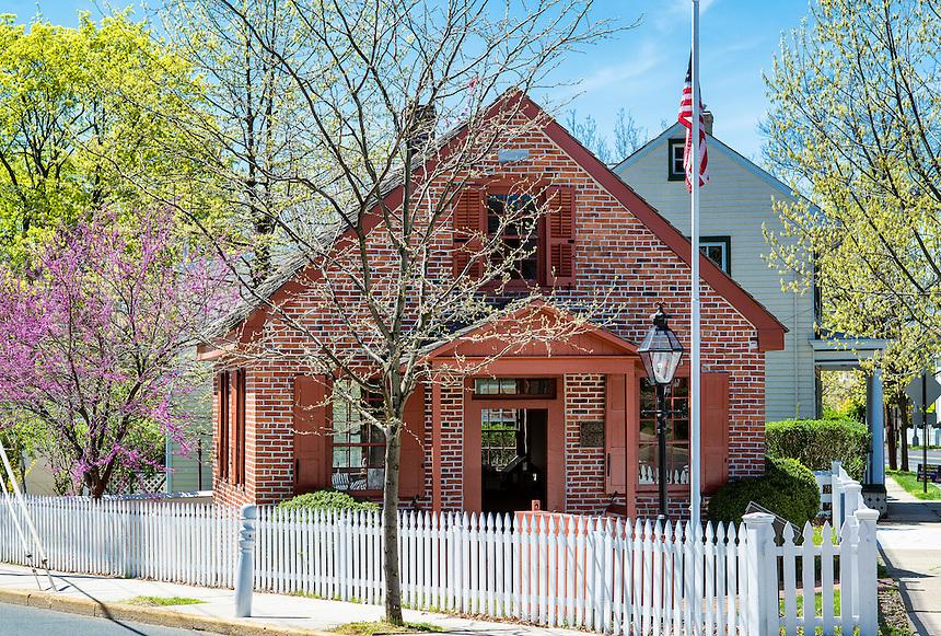 Clara Barton School, Bordentown, New Jersey, USA  Founder of the American Red Cross