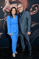 """LOS ANGELES, CA: 01, 2020: Yeniffer Behrens & Mauricio Mendoza  at the world premiere of """"The Way Back"""" at the Regal LA Live.<br /> Picture: Paul Smith/Featureflash"""