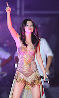 """SMG_Selena Gomez_Mizner Park_072811_01.JPG<br /> <br /> BOCA RATON, FL - JULY 28:  19 year old Disney star Selena Gomez performs her first show on her very first world tour at Mizner Park Amphitheatre. Selena even performed a Brittany Spears medley.  Boyfriend Justin Bieber was on hand even though he tweeted and lied to his fans saying """"Good to be back in Canada"""". Justin never came out but he did almost cause a riot as he and friend Sean Kingston left the building. There was complete chaos as Justin's bodyguard / driver screamed obscenities at parents and children that got to close to the little pop star.  On July 28, 2011 in Boca Raton, Florida.  (Photo By Storms Media Group)<br />  <br /> People:   Selena Gomez<br /> <br /> Must call if interested<br /> Michael Storms<br /> Storms Media Group Inc.<br /> 305-632-3400 - Cell<br /> 305-513-5783 - Fax<br /> MikeStorm@aol.com"""