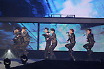 INFINITE, .Jan 11, 2012.The 26th Golden Disk Awards Osaka was held in Japan. A well known Korean music award took place for the first time overseas and was held for two days, starring famous Korean pop groups.(Photo by Akihiro Sugimoto/AFLO) [1080]