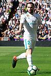 Real Madrid's Daniel Carvajal during La Liga match. April 8,2018. (ALTERPHOTOS/Acero)