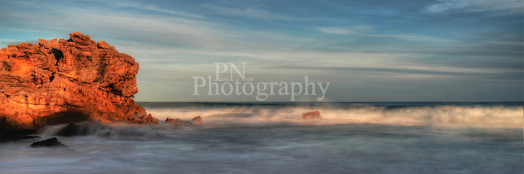 Beautiful Pennington Bay Kangaroo Island late one afternoon the amazing light allowed me to capture the stunning image.