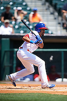 Buffalo Bisons outfielder Dalton Pompey (37) at bat during a game against the Columbus Clippers on July 19, 2015 at Coca-Cola Field in Buffalo, New York.  Buffalo defeated Columbus 4-3 in twelve innings.  (Mike Janes/Four Seam Images)